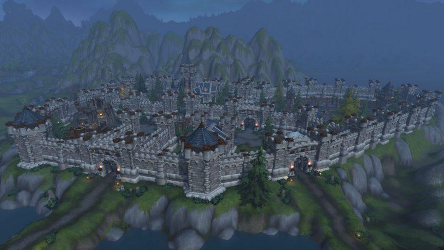 World of Warcraft Battle for Azeroth Arathi Highland Warfront