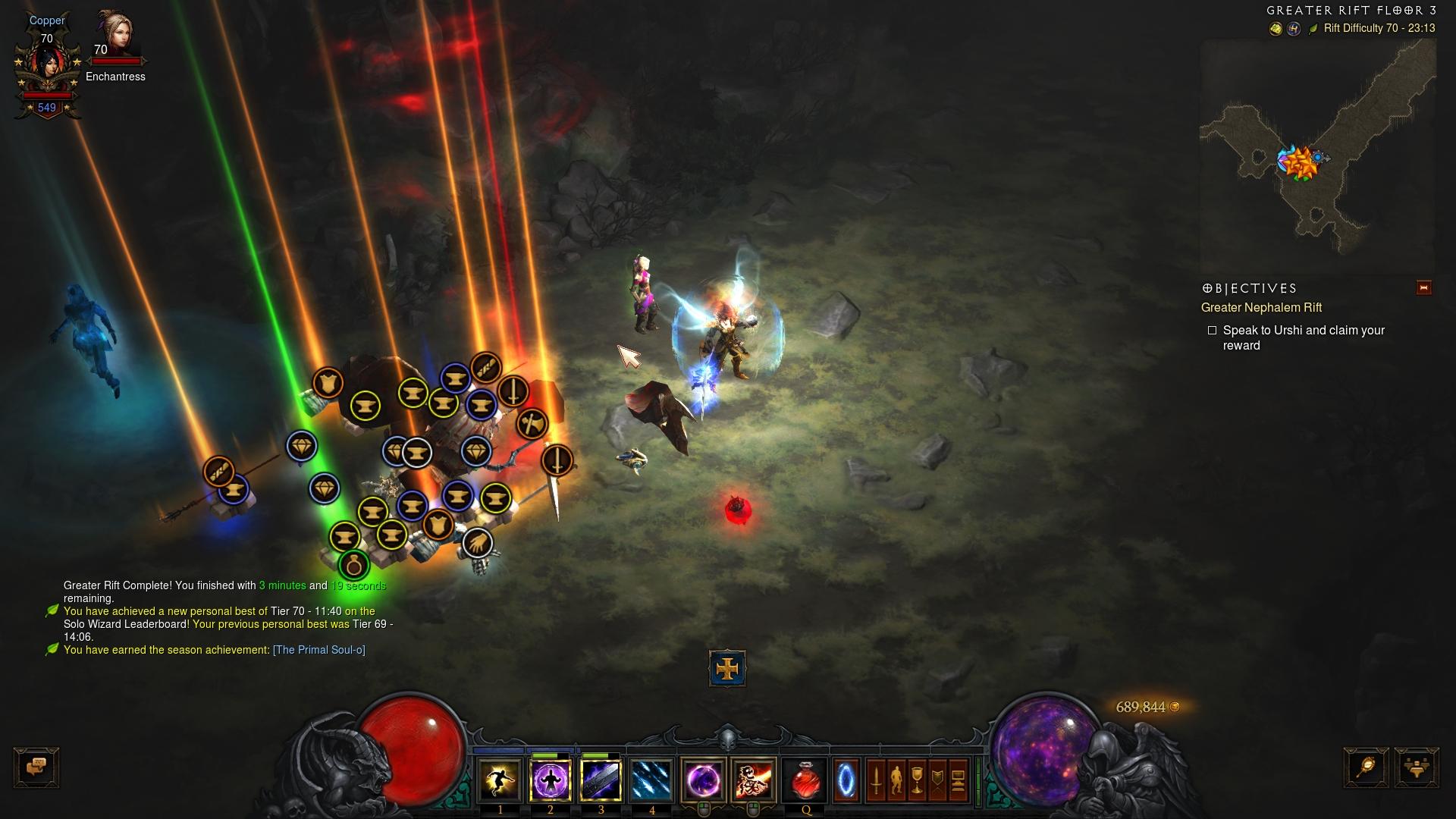 Copper Ice | Diablo III Season 16 End