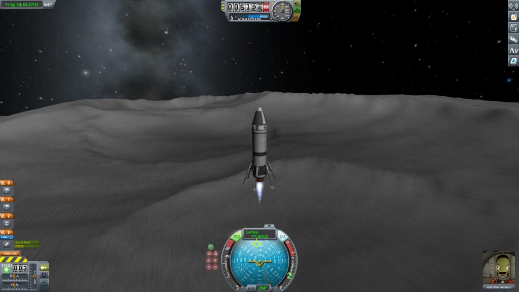 Kerbal Space Program Escaping Mun