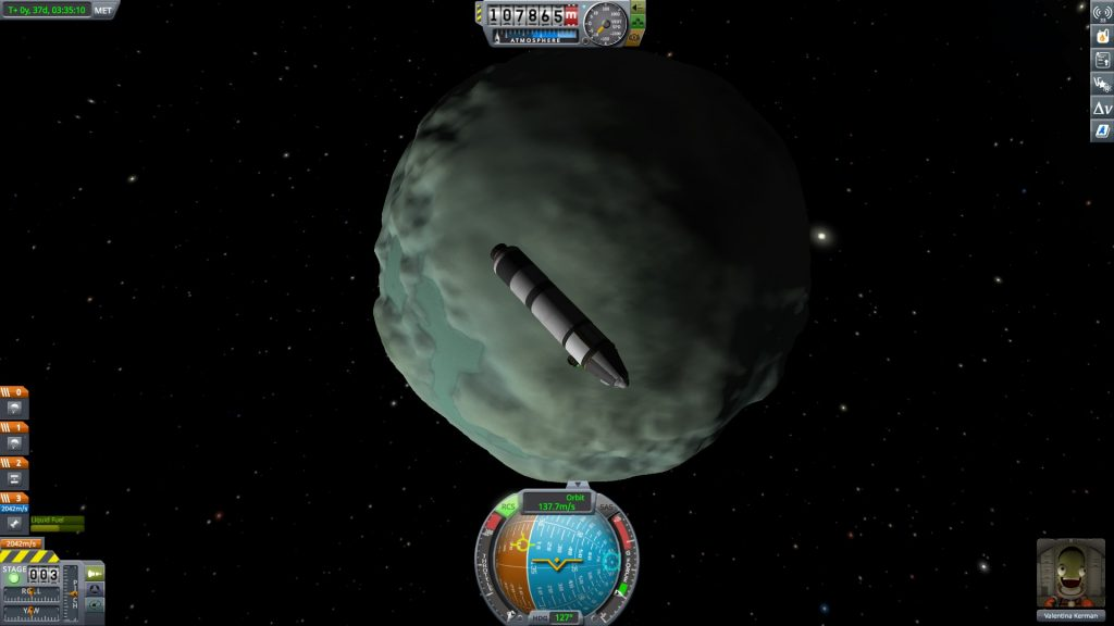 Kerbal Space Program Minmus