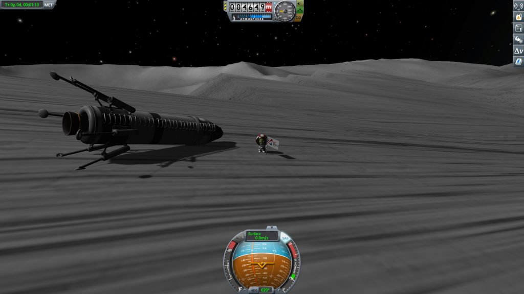 Kerbal Space Program Mun Landing