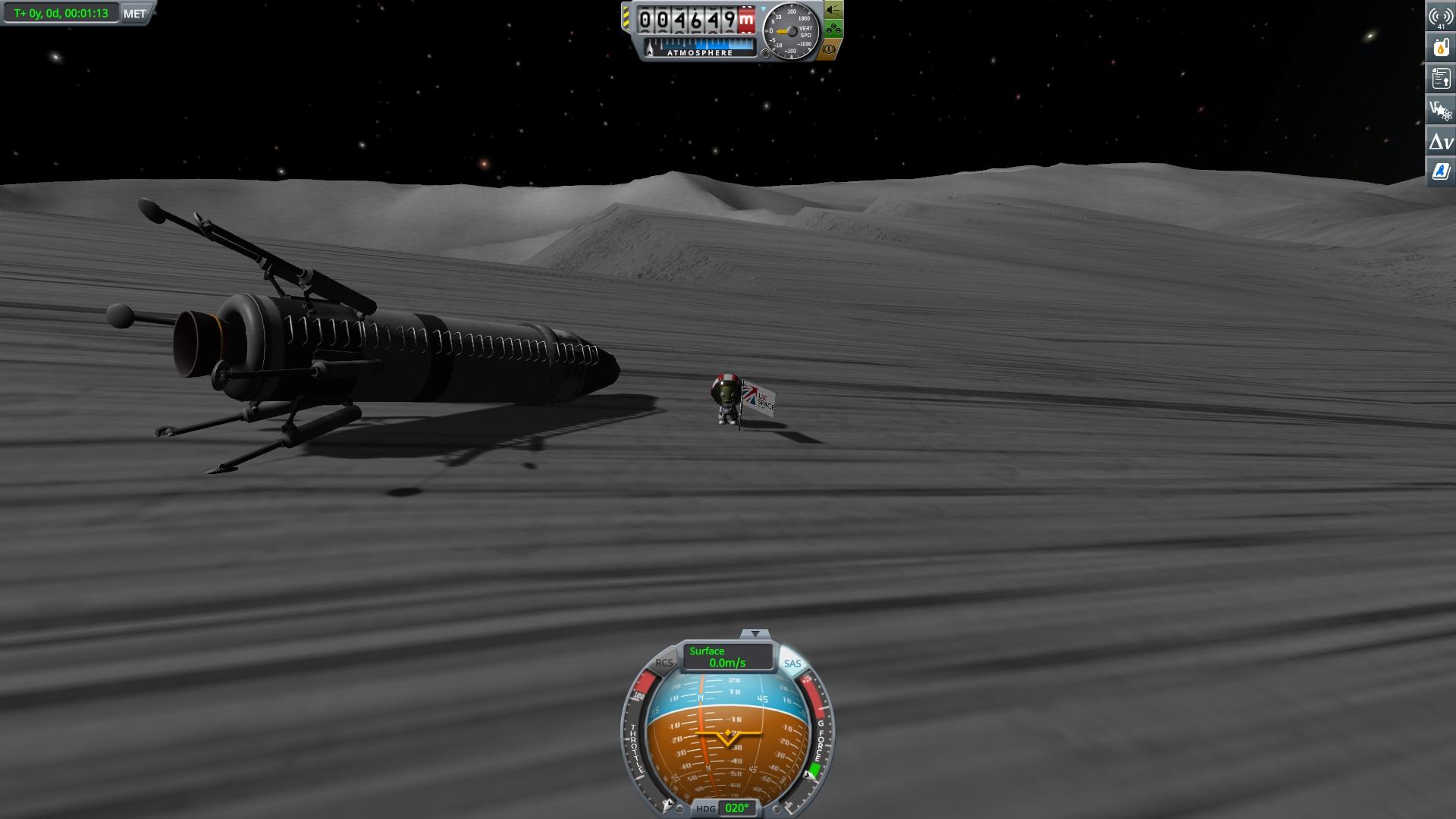 Copper Ice | KSP: Mun Landing! Sorta…