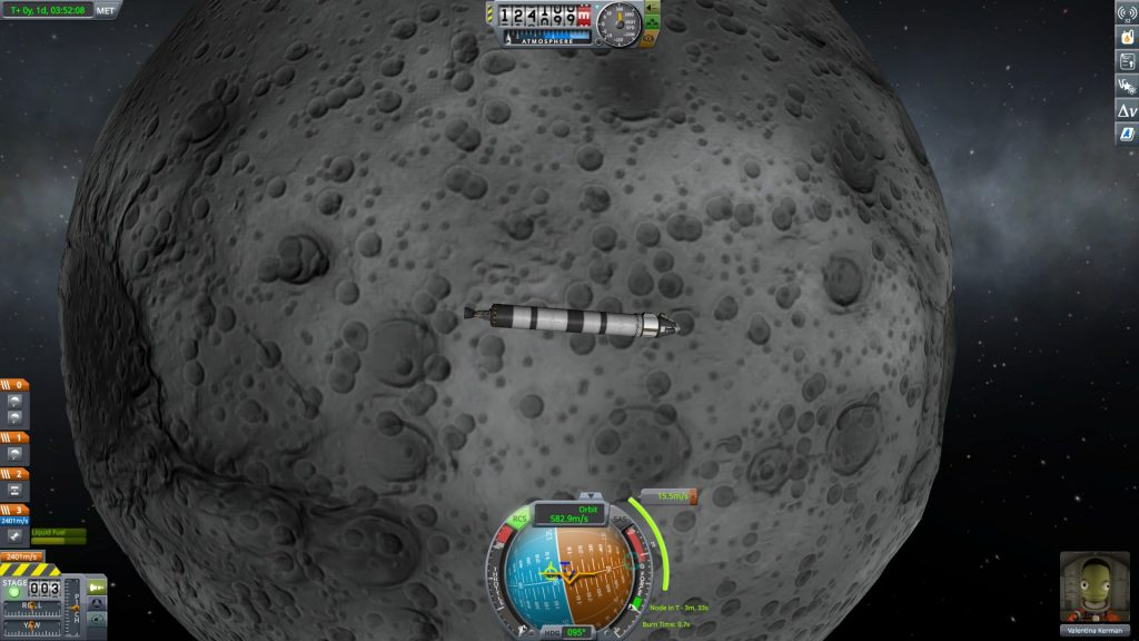 Kerbal Space Program Mun Orbit