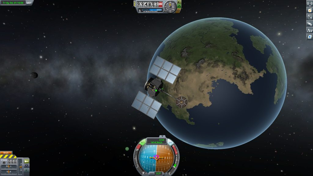 Kerbal Space Program Satellite