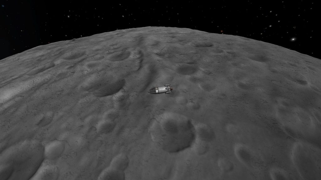 Kerbal Space Program Mun Craters