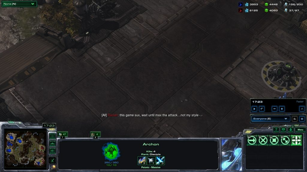 Protoss Starcraft 2 Ladder Game Complainer