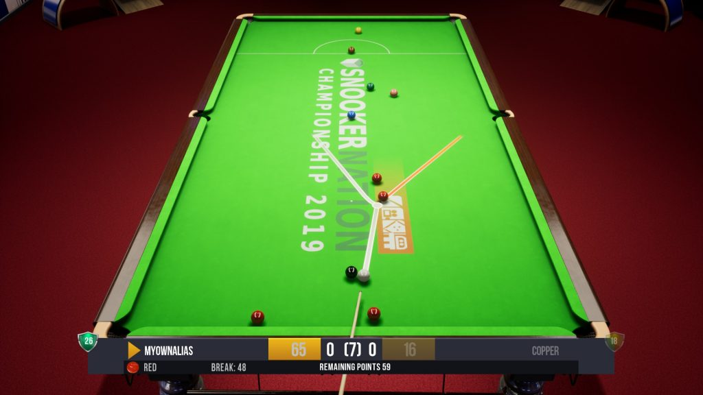 Snooker Nation Table Cloth