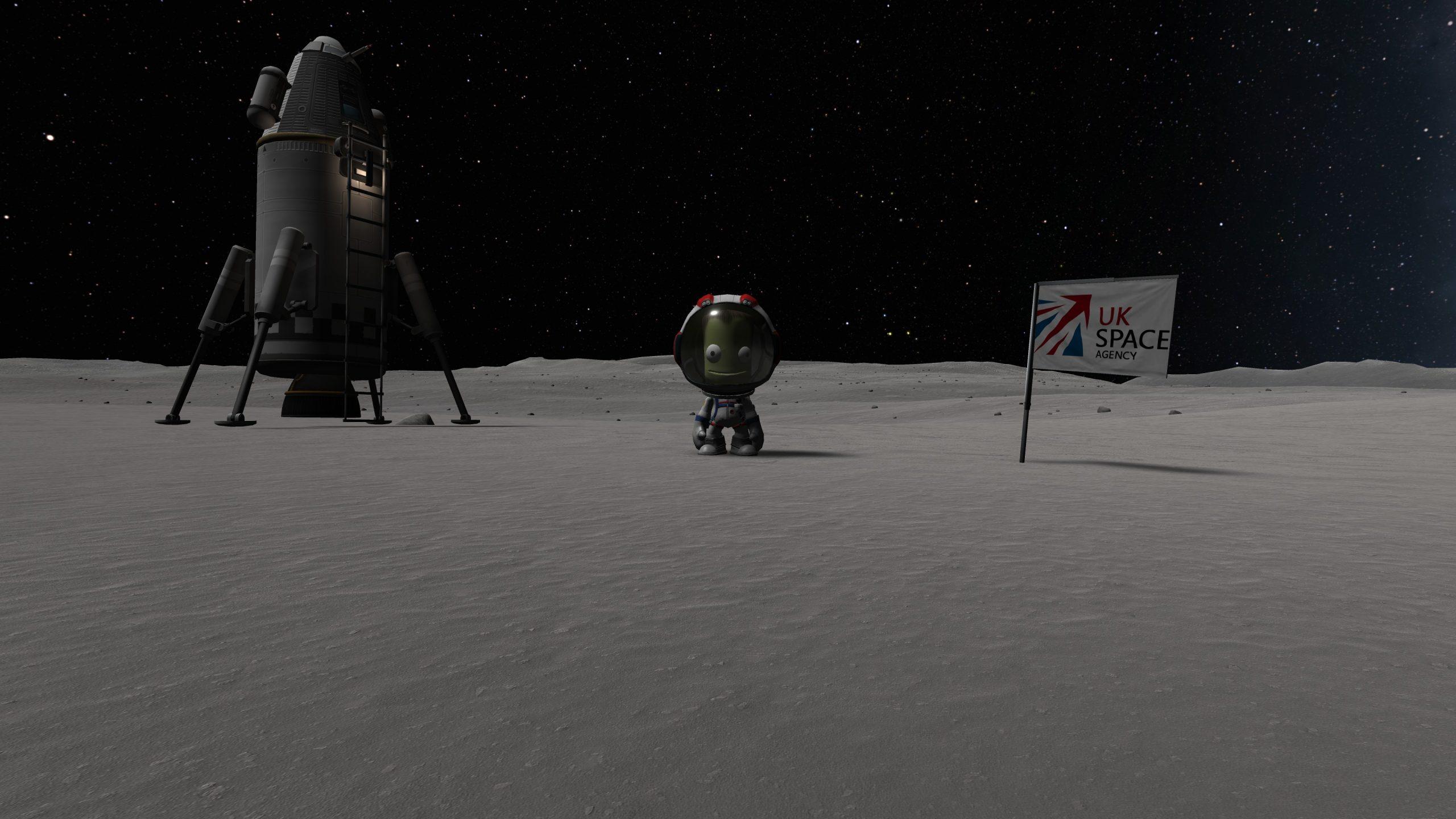 KSP: A Better Mun landing!