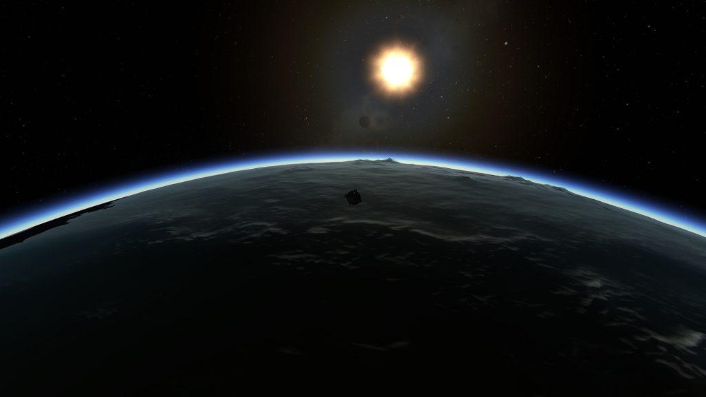 KSP: Earth Re-entry