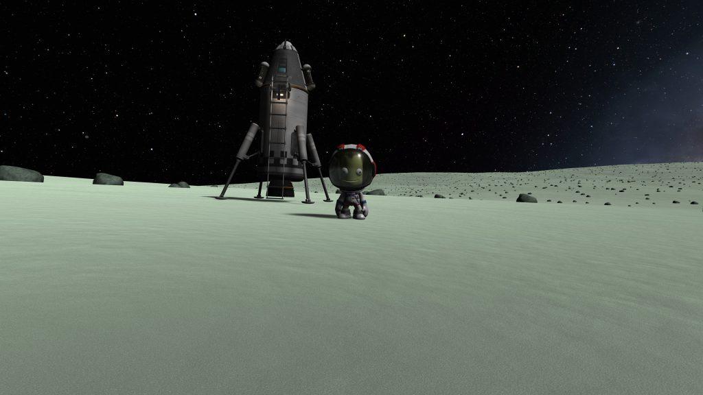 KSP: Minmus Crash Landing