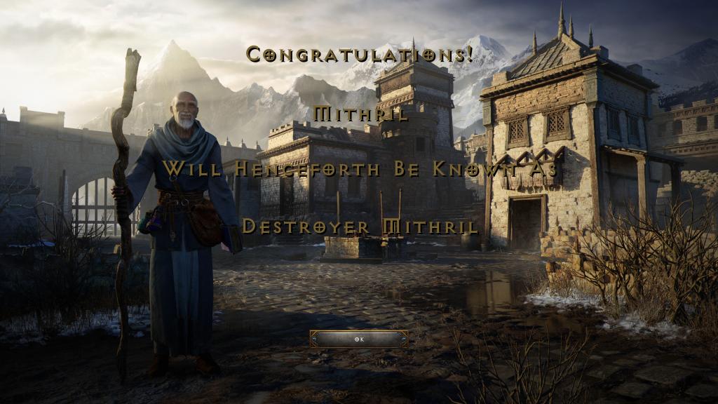Diablo II Resurrected Destroyer Mithril